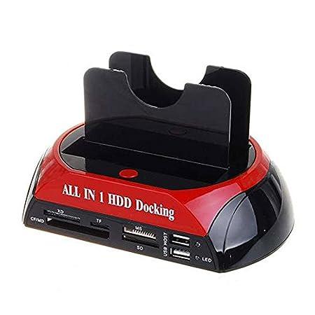 SODIAL TCC-S862 en USB 2.0 Tiene SATA IDE Doble HDD Disco Duro ...