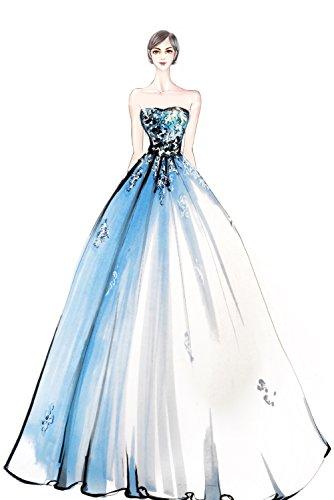 Milano Tuerkis Ballkleider Rosa Bride Applikation Abendkleider Spitze Anmutig Lang Quincenera Weiss Promkleider rzrdEPx