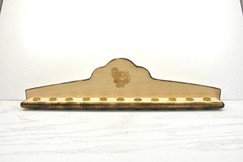 Turkey Beard Plaque with Fan Mount- Engraved - Strut Hs Hunters Specialties