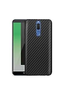 Margoun Case for Huawei Mate 10 Lite Carbon Fiber TPU Back Cover - Black