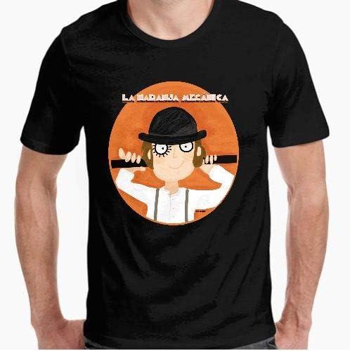 Camiseta - diseño Original - la Naranja mecánica - M: Amazon.es: Hogar