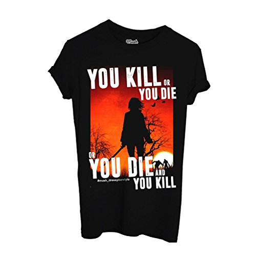 T-Shirt KILL OR DIE MICHONNE - THE WALKING DEAD - FILM by iMage Dress Your Style