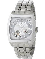 Bulova Womens 96P119 BVA Series Floral Aperture Dial Watch