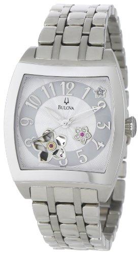 Bulova Women's 96P119 BVA Series Floral Aperture Dial Watch ()