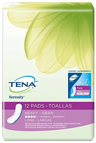 Tena Serenity Protective Pads, Ultra Plus Absorbancy-Long-12ct by Tena Slip