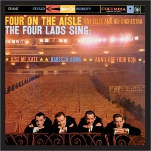 CD : The Four Lads - Four On The Aisle (CD)