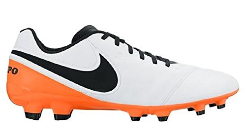 NIKE Fg Football Boots White Genio 's Men Ii Tiempo Leather 6rq6ZO