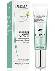 Anti Ageing PREMIUM Eye Serum with Vitamin E & Aloe Vera for Dark Circles, Puffiness - Best for Eye Wrinkles - Clinically tested with all natural indigents - For all Skin types - BEST SELLER IN UK