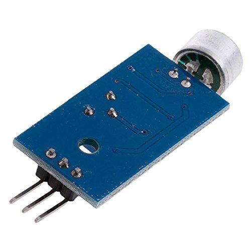 SODIAL(R) 3.3V/3.5V LM393 Microphone Amplifier Sound Sensor MIC Voice Module for Arduino