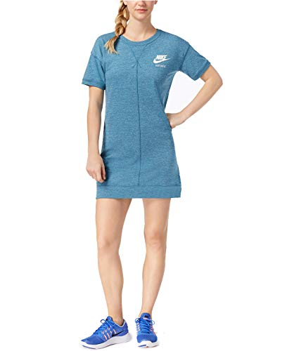 Nike Women's Gym Vintage Dress (Noise Aqua/Sail, Small) ()