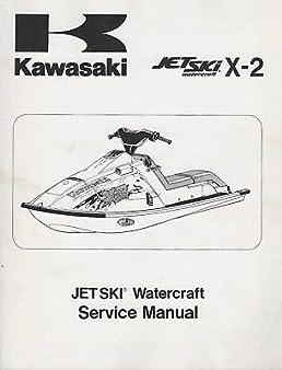 1986 1995 kawasaki jet ski x 2 service manual p n 99924 1069 10 401 rh amazon com 1995 kawasaki 750ss jet ski service manual 1995 kawasaki jet ski 750 owners manual