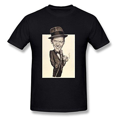 SANMU Men's Eclectix Goes To The Oscars Frank Sinatra Jr T-shirt