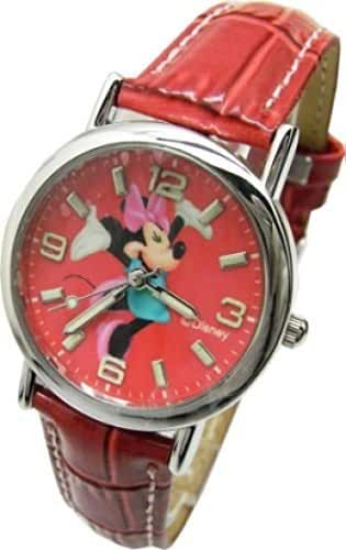 Disney Minnie Mouse Wrist Watch For Girls .Large Analog Dial. 9