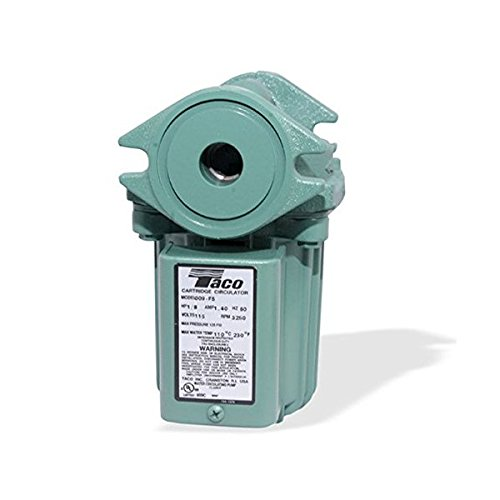 Taco 009-F5 Cast Iron Circulator Pump, 1/8 HP ()