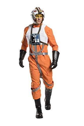 X Wing Star Wars Costume (Star Wars Men's Classic Grand Heritage X-Wing Fighter Costume, Multi, Standard)