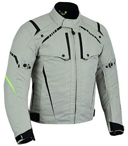 LOVO Chaqueta tricapa de toda estación de moto para hombre (3XL ... 4e52f7749f054
