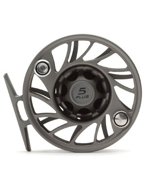 Hatch Gen 2 Finatic 5 Plus Fly Reel, Gray/Black, Large Arbor (Hatch Fly Fishing)