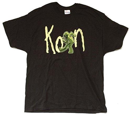 Korn Zombie Slam 2010 Tour Black T Shirt (2X) (Printed T-shirts Korn)