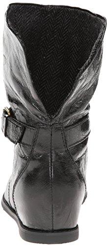 Tutta La Cintura Da Donna Nera E Stivale In Tweed Nero