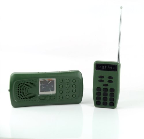 Wireless Decoy - Walsoon CP387 Hunting MP3 Player Bird Decoy Bird Caller Remote Control 20W Speaker+Flashlight