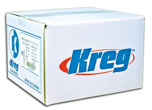 Kreg SML-C250-2000 Pocket Screws 2 1/2-Inch, 8 Coarse, Washer Head, 2000 Count by KREG