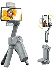 MOZA MINI MX Gimbal Handheld Stabilizer for Smartphone Small Palm Size Support iOS&Android Max Payload 9.9OZ for Vlog YouTube Street Snapshot【One Year Warranty】