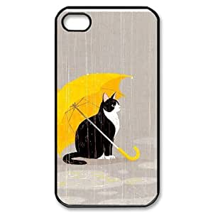 Yellow Umbrella CUSTOM Cell Phone Case for iPhone 4,4S LMc-99022 at LaiMc