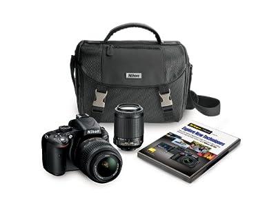 Nikon D5100 16.2MP CMOS Digital SLR Camera by Nikon