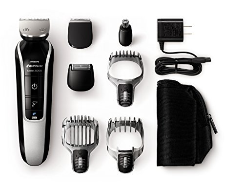 Norelco Body Grooming - Philips Norelco Multigroom 5100 Grooming Kit - 18 Length Settings QG3364/49