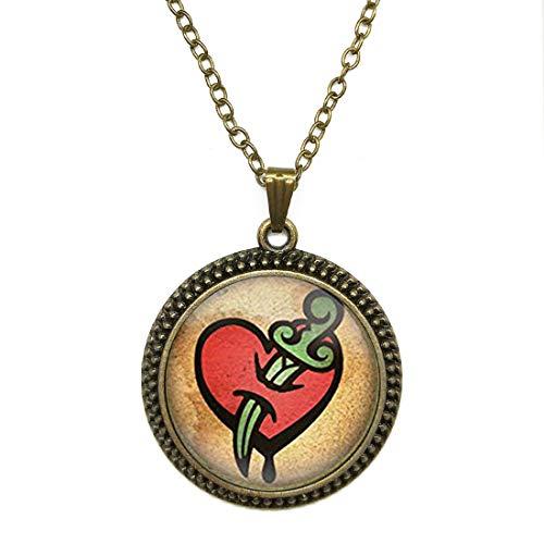 SunShine Day Fashion Necklace Bioshock Infinite Necklace Jewelry Bioshock Infinite Vigor Pendant Necklace Glass Cabochon Necklace A4048