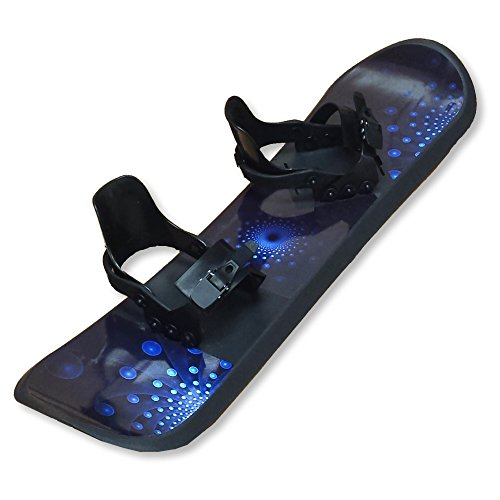Grizzly Snow 95cm Deluxe Kid's Beginner Blue and Black Snowboard by Grizzly