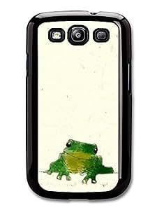 AMAF ? Accessories Cute Frog Digital Illustration Original Art case for Samsung Galaxy S3