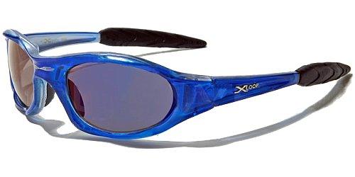 X-Loop Lunettes de Soleil - Sport - Cyclisme - Ski - Conduite - Moto - Plage / Mod. 2044 Rouge Translucide / Taille Unique Adulte / Protection 100% UV400 o6Iet97x