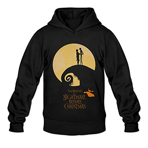 AK79 Men's Sweatshirt The Nightmare Before Christmas Size XXL Black (Sally From The Nightmare Before Christmas Costume)