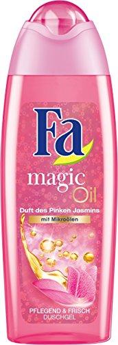 Fa Duschgel Magic Oil, Duft des Pinken Jasmin, 6er Pack (6 x 250 ml)