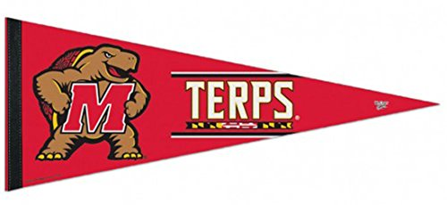 WinCraft University of Maryland Terrapins Premium Felt Pennant, 12 x 30 inches for $<!--$16.99-->
