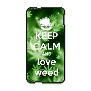 DAZHAHUI Fresh green design Cell Phone Case for HTC One M7