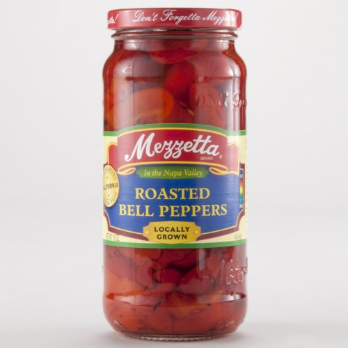 Mezzetta Roasted Red Bell Peppers 16 oz.(Pack of 2)