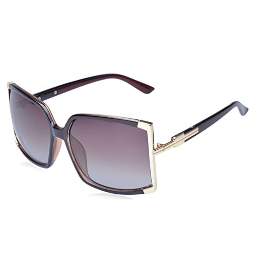 W-Q 2016 New Womens Trendy Personality Oversize Square UV Protection - Price Rb2132 Polarized