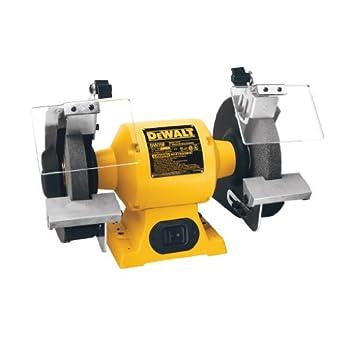 Image of Home Improvements DEWALT Bench Grinder, 8-Inch (DW758)