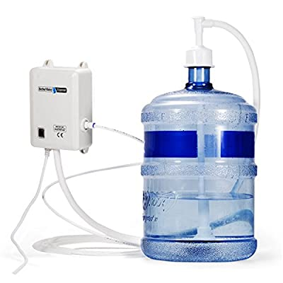"BestEquip Water Dispensing System 1 Gallon/Min Water Dispensing Pump 40 PSI Bottle Water Dispensing System with 20 ft 1/4"" PE Pipe"