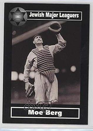 Amazoncom Moe Berg Baseball Card 2003 American Jewish