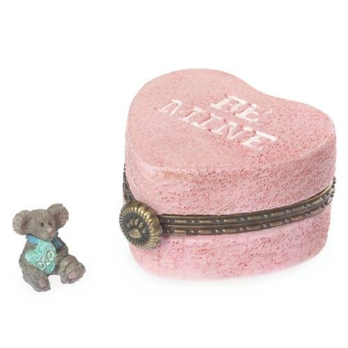 Boyds Bears Valentine's Day Candy Heart Treasure Box W/kisses ~ 4038007