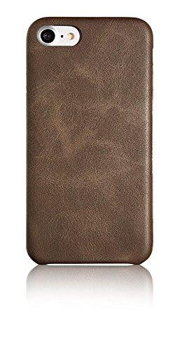 Spada 4052335032269 Alcantara Hülle für Apple iPhone 6/6S/7 braun