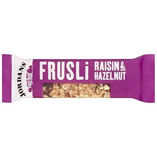 Jordans Frusili Raisin and Hazelnut Bar 30 g (Pack of 24)