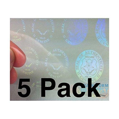 IDOV/_517 20 x Shield and Key ID Card Hologram Overlay