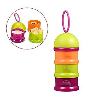 6682721a0170 Amazon.com : Baby Infant Milk Powder Formula Dispenser Container ...