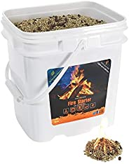 InstaFire Granulated Fire Starter, All Natural, Eco-Friendly, Lights Fires in Any Weather, Awarded 2017 Fire S