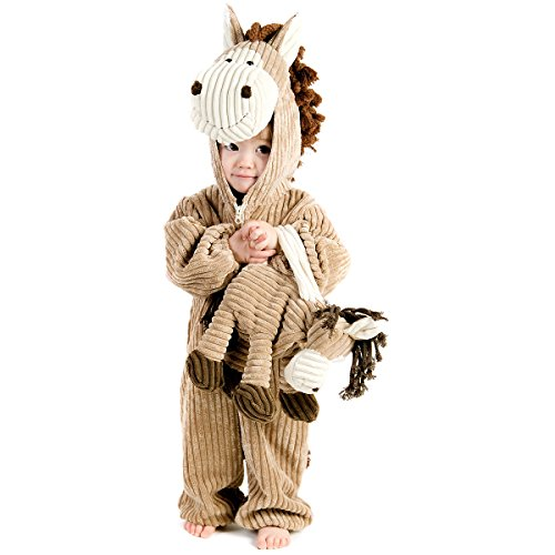 Princess Paradise Corduroy Horse Costume, Multicolor, X-Small (4)]()