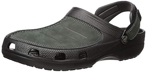 Used, crocs Men's Yukon Mesa Clog M Mule, Black/Black, 12 for sale  Delivered anywhere in USA